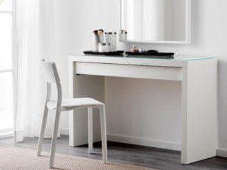 IKEA MALM Frisiertisch, weiß