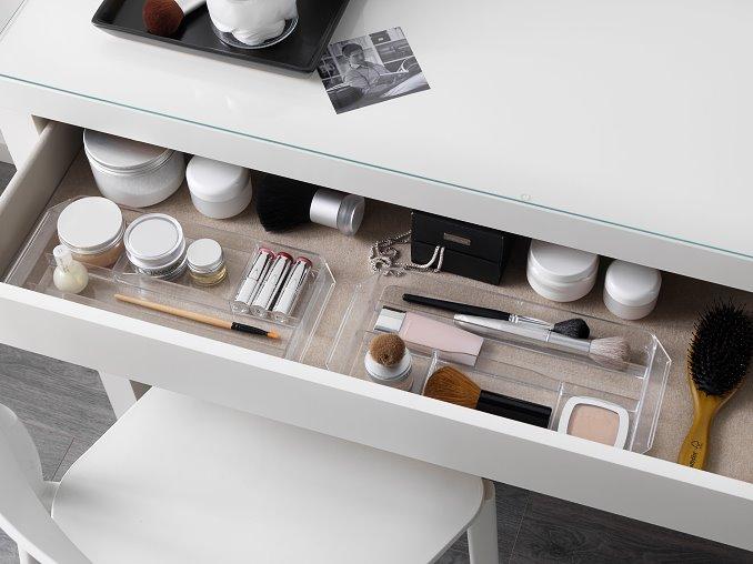Schublade des IKEA MALM Frisiertischs