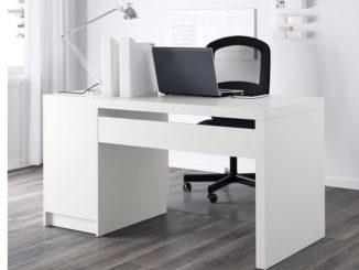 IKEA MALM Schreibtisch, weiß