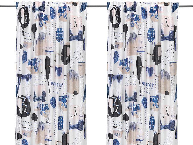IKEA-Vorhänge kürzen