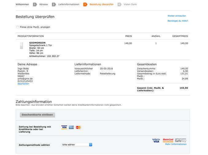 Online kaufen bei IKEA