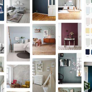 Pinterest Wohnideen: Wandfarben